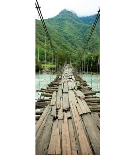 Puente entarimado