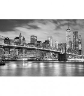 Fotomural New York en blanco y negro 3P
