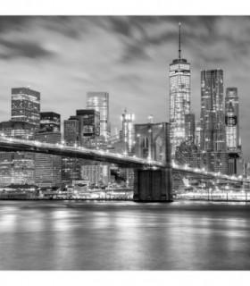 Fotomural New York en blanco y negro 2P