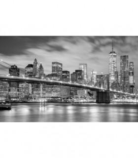 Fotomural New York en blanco y negro 1P