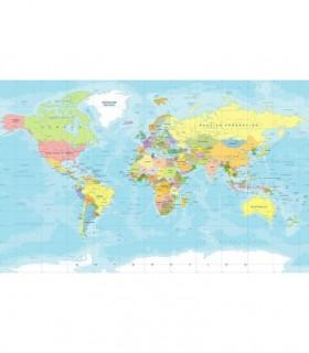Fotomural Mapa político 1P
