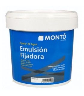 Emulsion fijadora Monto Transparente