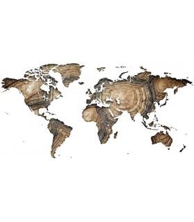 Mapamundi madera